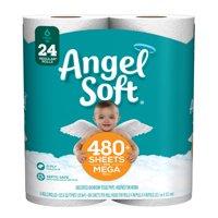 Angel Soft Toilet Paper, 6 Mega Rolls