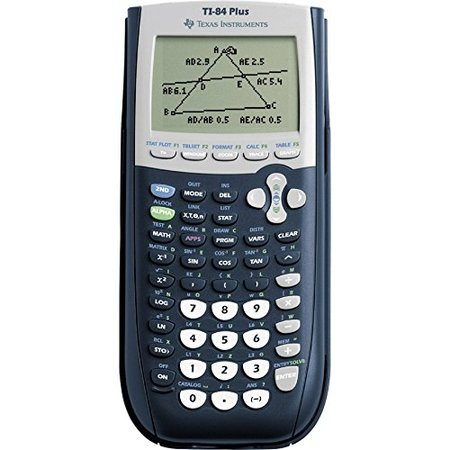 Texas Instruments TI-84 Plus Graphing Calculator, 10-Digit (Weight Watchers Points Calculator)