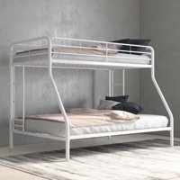 Deals on DHP Twin Over Full Metal Bunk Bed Frame
