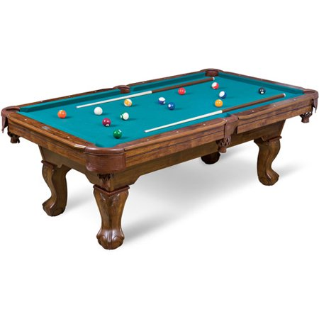 Eastpoint Sports 87 Inch Brighton Billiard Pool Table Green Cloth