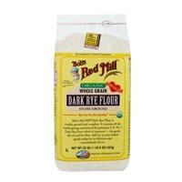 (2 Pack) Bobs Red Mill Organic Dark Rye Flour, 22 Oz