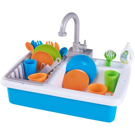 - Spark. create. imagine. kitchen sink play set, designed for ages 3 and up