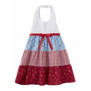 cc4c1eb87d2 Blueberi Infant   Toddler Girls Bandana Gingham Check Dress Halter Sundress