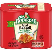 (3 Pack) Chef Boyardee Mini Ravioli, 15 oz, 4 Pack