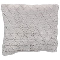 Your Zone Triangle Fur Pillow, 1 Each