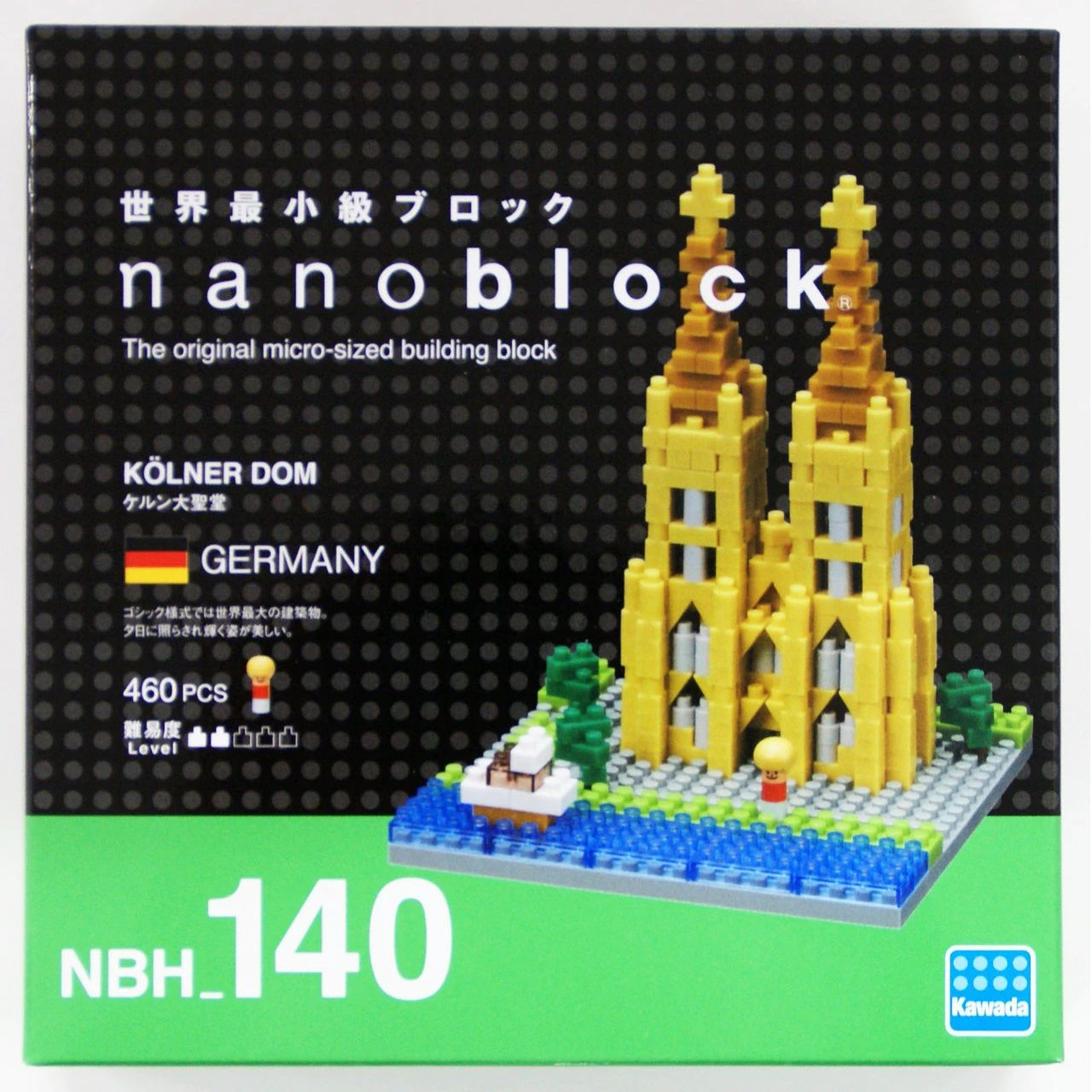 Nanoblock Irish Elk Building Kit Ohio Art NBC187