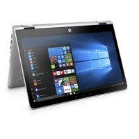 HP Pavilion X360 14-BA110NR Natural Silver 14 inch Touch Laptop, Windows 10, Core i5-8250U QC Processor, 8GB Memory, 256 GB SSD Hard Drive, UMA Graphics, Backlit Keyboard, B&O Play Audio