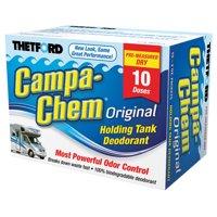 Campa-Chem DRI RV Holding Tank Treatment - Deodorant / Waste Digester / Detergent - 10 x 2 oz. packets - Thetford 20742