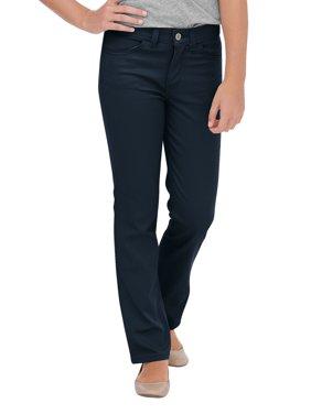 Girls' Skinny Fit Straight Leg 5-Pocket Stretch Twill Pants (Big Girls)