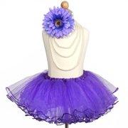 2b6771062 Efavormart 4 Layered Glitter Sequin Edged Girls Ballet Tutu Skirt for Dance  Performance Events Wedding Party