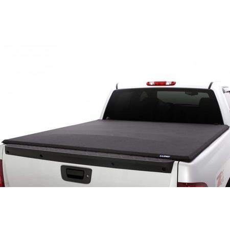 Lund 16-17 Nissan Titan (5.5ft. Bed w/Titan Box) Genesis Elite Seal & Peel Tonneau Cover - Black