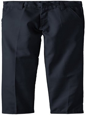 Genuine Uniform Boys Firm Flat Front Double Knee Pant