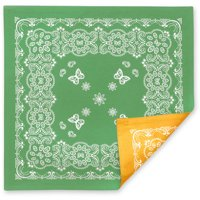 The Pioneer Woman Bandana Reversible Square Placemat, Green