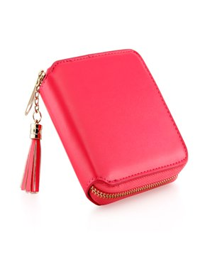 Product Image Fashion Womens Leather Coin Mini Wallet Case Card Holder Zip Purse Clutch Handbag