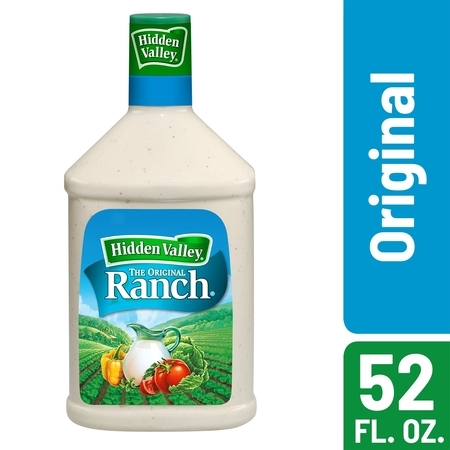 Hidden Valley Original Ranch Salad Dressing & Topping, Gluten Free, Keto-Friendly - 52 oz Bottle