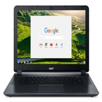 "Acer 15.6"" HD Chomebook, Intel Celeron N3060, Intel HD Graphics 400, 4GB, 32GB HDD, CB3-532-C4ZZ"