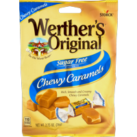(3 Pack) Werther's Original, Sugar Free Chewy Caramels, 2.75 Oz