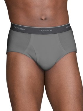 Men's Dual Defense Assorted Fashion Briefs, 6 Pack