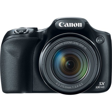 Canon SX530 PowerShot SX530 16MP 50x Zoom Digital Camera ()