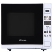 Emerson 1.1 cu. ft. 1000W, Touch Control Counter Top Microwave Oven, White ER105001