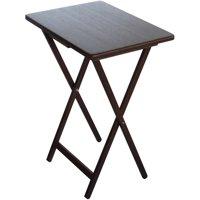 Mainstays Tray Table, Walnut