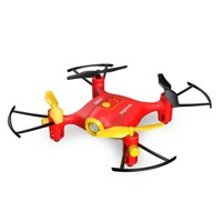 Syma X20 Pocket 2.4Ghz RC Drone Quadcopter with Headless Mode and Altitude Hold Function - Red