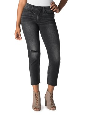 Signature by Levi Strauss & Co. Women's High Rise Ankle Slim Jeans