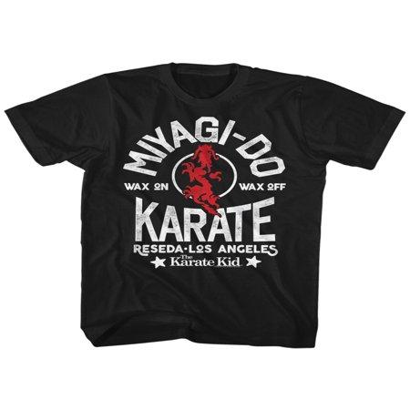 Karate Kid Martial Arts (Karate Kid 1980's Teen Martial Arts MovieMiyagi Do Reseda Adult T-Shirt Tee )