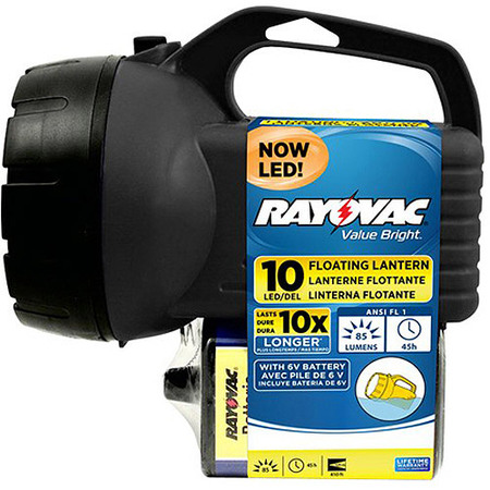 Rayovac 10 LED 6V Floating Lantern,