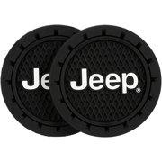 Jeep® Auto Cup Holder Coaster 2 ct Pack