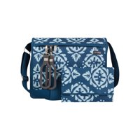 JJ COLE All Around Diaper Bag - Aqua Ikat