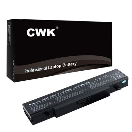 CWK New Replacement Laptop Notebook Battery for Samsung P560 P580 AA-PB9NC6B AA-PB9NC6W R440 Q430 P330 R523 R538 R540 R580 RF410 RF510 E172 NP-R580 NP-R730 NP-R780 NP-RF410 NP-RF510 NP-RF710 NP-R425