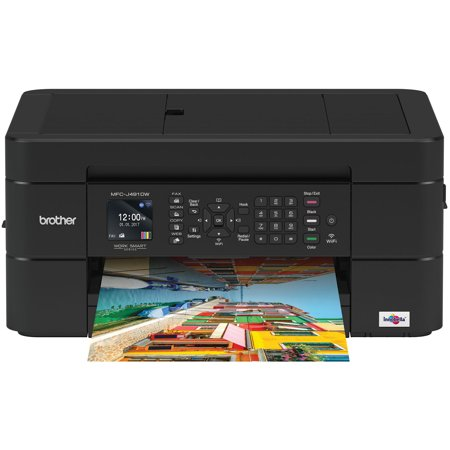 Brother Mfc J491dw Compact Wireless Color Inkjet All In One Printer