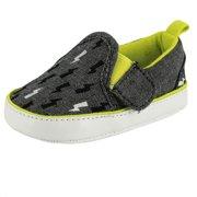 3e8adb8f1538 Rosie Pope Bolt Of Sunshine Prewalker Baby Boy Slip-On Canvas Sneaker 0-3