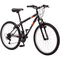 "24"" Roadmaster Granite Peak Boys Mountain Bike, Black"