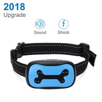 Dog Barking Control Collar Upgrade 2018 for All Sizes Dogs with Harmless Shock And 7 Bark Sensitivity Levels