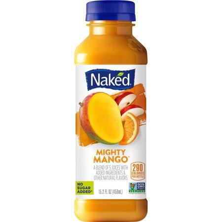 Naked Juice Fruit Smoothie, Strawberry Banana, 15.2 oz Bottle