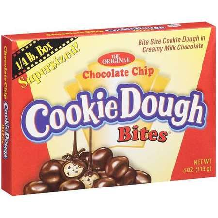 Taste Of Nature Chocolate Chip Cookie Dough Bites, 4 (Chocolate Covered Cookie Dough)