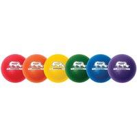"Champion Sport, CSIRXD6SET, s Rhino Skin 6"" Dodgeball Set, 6 / Set, Green,Orange,Purple,Royal Blue,Red,Yellow"