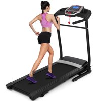 Lowest Price Ever!ANCHEER 2.5HP+12 Sports Modes Folding Treadmill Fitness Folding Electric Treadmill Exercise Equipment Walking Running Machine Gym Home