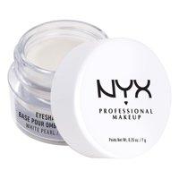 NYX Professional Makeup Eyeshadow Base, White Pearl