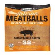 Rosina Smoky Maple Bacon Meatballs, 16oz Bag
