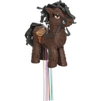 Brown Horse Pinata, Pull String