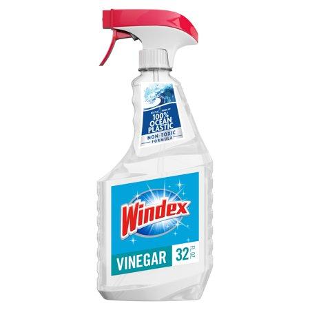 Windex with Vinegar Glass Cleaner, 32 fl oz Trigger Bottle