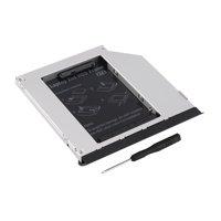 Professional Ejector Serial Second SATA Hard Drive Module Caddy Adaptor Compatible For DELL E6320 E6420 E6520 E4300 E4310