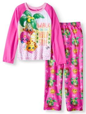 d9e6dea33e Product Image Shopkins 2 Piece Pajama Sleep Set (Big Girl   Little Girl)