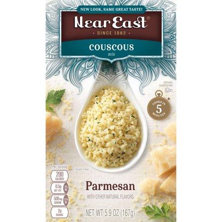 - Near East Couscous Mix, Parmesan, 5.9 oz Box