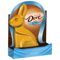 Dove Milk Chocolate Candy Solid Easter Bunny, 4.5 Oz.