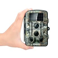 """Trail Camera, Enkeeo PH730S 1080P HD Game & Trail Camera 12M Wildlife Hunting Trail Cam Long Range Infrared Night Vision with Time Lapse & 2.4"""" LCD Screen"""