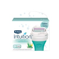 Schick Intuition Sensitive Care With Natural Aloe Women's Refill Razor Blades - 6 Count